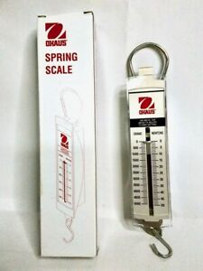 Ohaus 8008-MN Pull Type Spring Scale - 5000g/50n Capacity 100g/1n Readability
