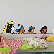 Wandtattoo Yakari und seine Freunde bunt Wandaufkleber Wandfolie Klebebild Deko