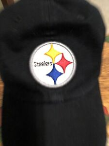 Pittsburgh Steelers '47 Brand Mens Black Clean Up Adjustable Hat