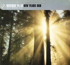 """MUSIQUE vs U2 New Years Dub 12"""" VINYL Mauro Picotto HYBRID Serious UK SERR030T1"""