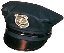 Police Cap Polizeimütze NEU - Karneval Fasching Hut Mütze Kopfbedeckung