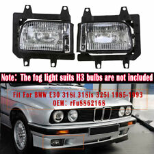 Front Fog Lights Accessories for BMW E30 318i 318is 325i 63171385945/63171385946