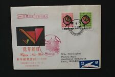 CHINA TAIWAN 1980 FDC Year of the rooster