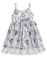 MARMELLATA® Little Girls' 6X Blue Seashell Print Sun Dress NWT $58