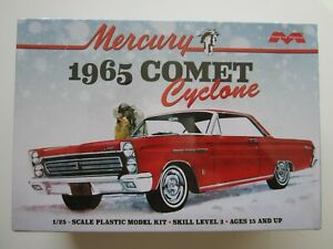 1/25 scale 65 Comet Cyclone by Moebius. Open, contents Sealed .