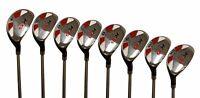 "Senior Ladies Majek Golf All Hybrid Full Set (4-SW) Lady ""L"" Flex Utility Clubs"