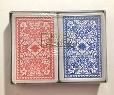 Royal - Playing Cards - 2 Deck - 100% Plastic With Case - 1 New 1 Used