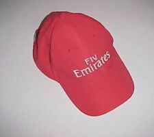 Fly Emirates Airline Adult Unisex Red Cap One Size New