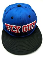 ANGRY BIRDS / FLY GUY blue / black adjustable cap / hat - 100% cotton S/M