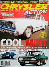 CHRYSLER ACTION MAGAZINE - #32, MOPAR, CHARGER, HEMI, VALIANT, 300D, VH