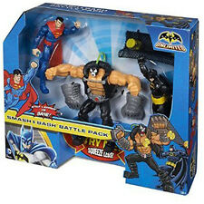 Batman Unlimited - Battle in a Box - Bane, Superman & Batman - Brand New