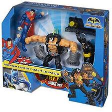 Batman Unlimited - Battle in a Box - Bane, Superman & Batman - Brand New