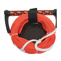 "Riders Inc Water Ski Kneeboard Tow Rope with EVA 13"" Handle ORANGE"