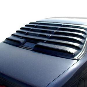 89-98 Ford Thunderbird ASTRA HAMMOND 1-piece Textured ABS Rear Window Louver