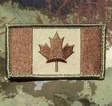 CANADA FLAG CANADIAN MAPLE LEAF MILITARY ARMY TACTICAL OP MULTICAM IRON ON PATCH