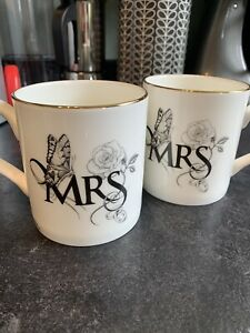 Mrs And Mrs Mugs Gay Pair Lesbian Wedding Gift Non Binary