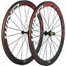 WINDBREAK Red/White Decal Road Carbon Wheelset R13 Bike Carbon Wheels Clincher