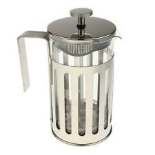 Coffee Maker French Press Cafetiere Plunger Pot Filter 600ml Steel Glass