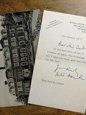 More details for harold macmillan - british prime minister - politic - autograph letter