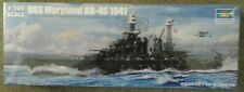 Trumpeter USS Maryland BB-46 Battleship # 5769 plastic model kit 1/700 scale