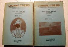 HAITI/L'HOMME D'AIRAIN/ETUDE SUR JJ.DESSALINES/T. BRUTUS/1946/2 VOLS/INTROUVABLE