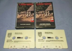 SLAVONIC DANCES Double classical music cassette T9114