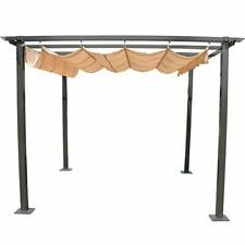 10'x 10'Outdoor Barbecue Canopy Awning Gazebo Shelter Adjustable Sunshade