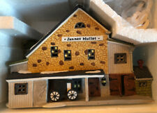 Department 56 New England Village Jannes Mullet Amish Barn New