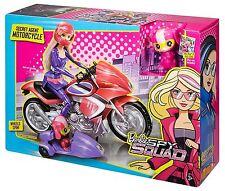 barbie spy squad geheimagent motorrad motorrad mit beiwagen