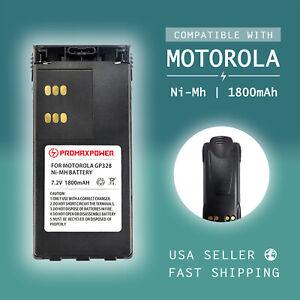 Replacement HNN9008 Battery for Motorola HT750 HT1250 GP338 MTX850, 1800mAh NiMh