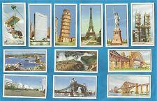 cigarette/trade cards - Beaulahs - MARVELS OF THE WORLD - Full set 1954