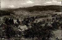 Wilhelmsfeld bei Heidelberg Postkarte 1964 gelaufen Panorama Felder Wald Kirche
