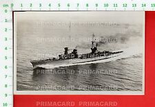 51380 CARTOLINA 1936 MILITARE MILITARY NAVE SHIP INCROCIATORE DUCA D'AOSTA