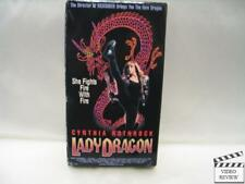 Lady Dragon (VHS, 1992) Cynthia Rothrock