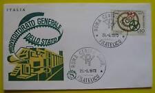 Busta F.D.C.Filograno  Provv. Gen. Dello Stato 1973 - 1
