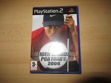 PS2 TIGER WOODS PGA TOUR 2004 ,PAL Reino Unido,NUEVO & Sony PRECINTO DE FÁBRICA