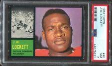 1962 Topps #40 J.W. Lockett PSA 7 Dallas Cowboys