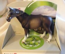 SCHLEICH HORSE HANOVERIAN STALLION DRESSAGE 13649 MODEL RETIRED  NEW W DISPLAY