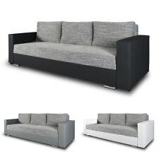 Schlafsofa Bird, Sofa mit Schlaffunktion und Bettkasten, Klappsofa, Schlafcouch