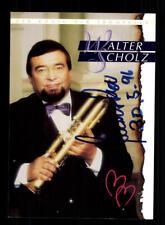 Walter Scholz Autogrammkarte Original Signiert ## BC 157714
