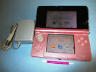 Nintendo 3DS Pearl Pink System Console w/Charger FREE Shipping!