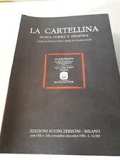 LA CARTELLINA - MUSICA CORALE E DIDATTICA - ANNO 1996- 6 VOLUMI COMPLETO ...RARO