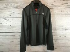 The North Face Mens Black Standard Fit 1/4 Zip Pullover Size Large Nwt