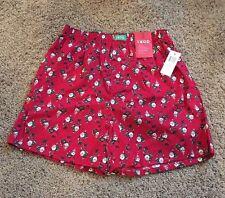 Men's Izod Boxer Red Santa Small 28-30 Nwt 100% Cotton