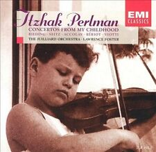 Concertos From My Childhood / Perlman, Foster, Jean-Baptiste Accolay, New
