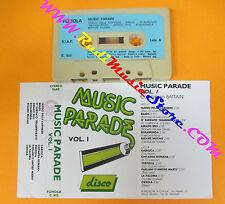 MC MUSIC PARADE Vol 1 disco compilation BATTAINI FONOLA C.855 no cd lp dvd
