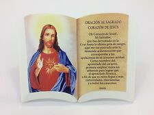 (Oracion) Sacred Heart Of Jesus/Sagrado Corazon De Jesus For Table And Wall