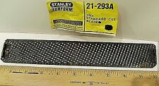 "10"" Flat  Stanley Surform Shaver Blade 21-293 A Cutting Tool Vtg New Old Stock"