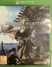 Monster Hunter: World (Microsoft Xbox One, 2018) - In Good Condition