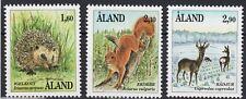 Aland Hedgehog Squirrel Roe-Deer Mammals Ã…land Finland Mint Mnh Stamp Set 1991